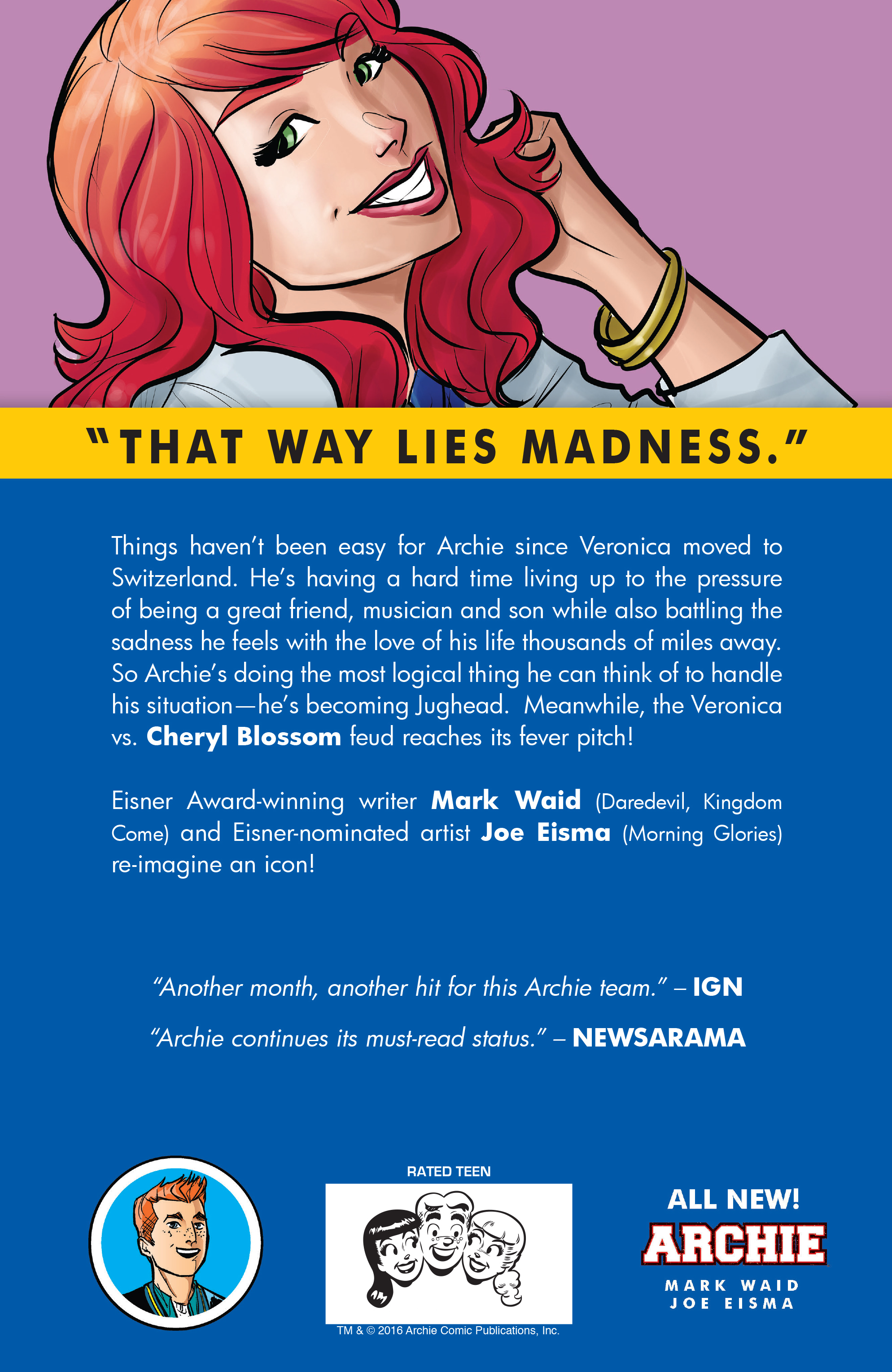 Read online Archie (2015) comic -  Issue #15 - 31