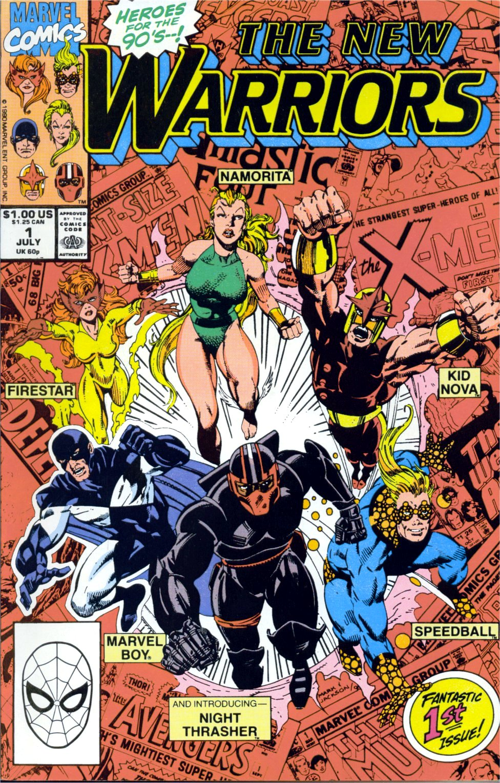 The New Warriors Issue #1 #5 - English 1
