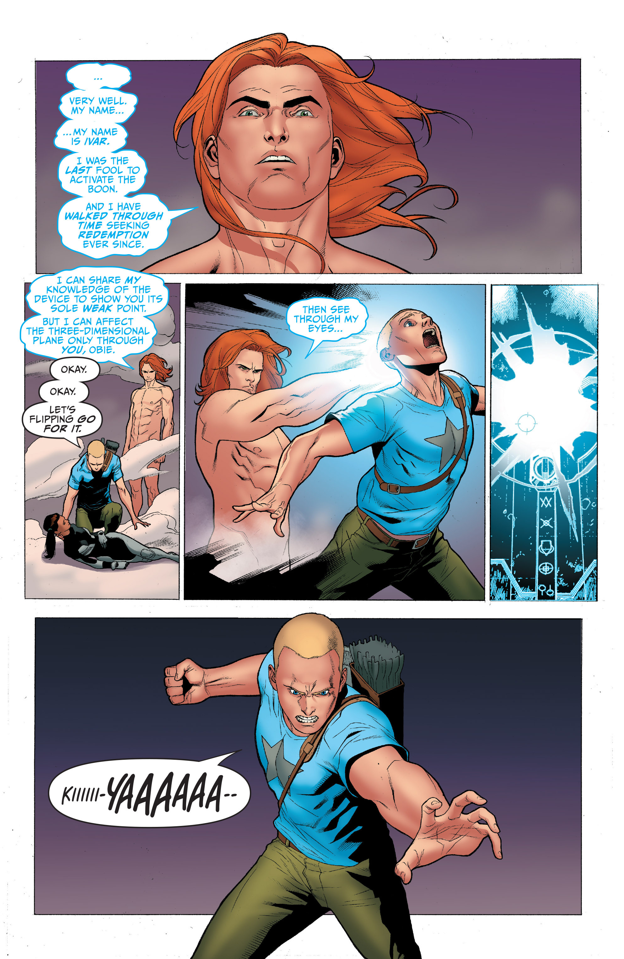 Read online Archer and Armstrong comic -  Issue #4 - 20