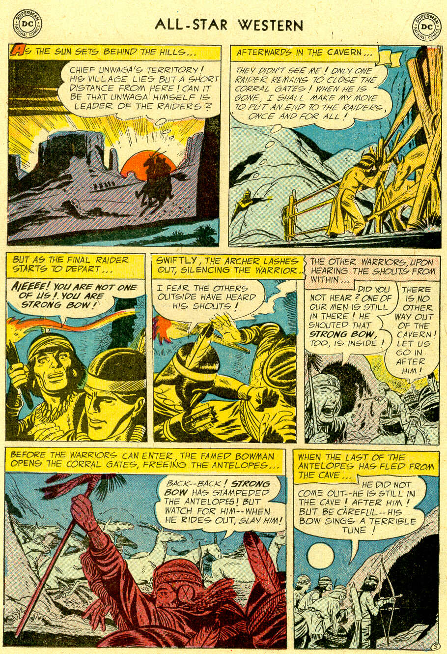 Read online All-Star Western (1951) comic -  Issue #83 - 16