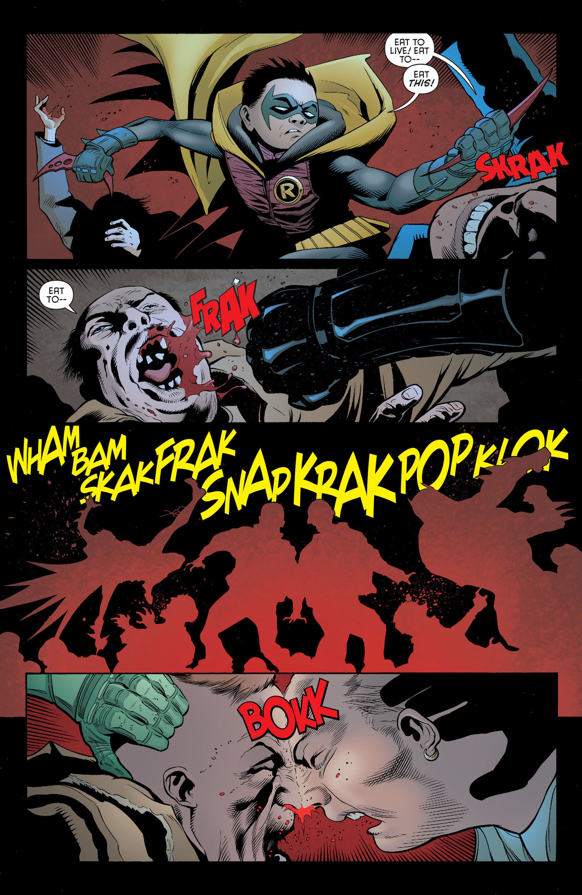 Read online Batman and Robin (2011) comic -  Issue #14 - 15