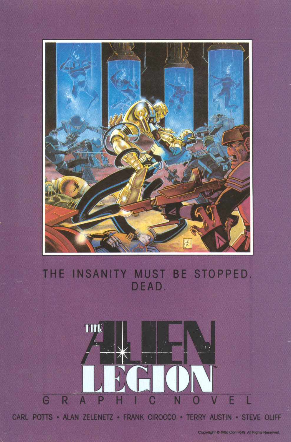 Read online Alien Legion comic -  Issue #17 - 36