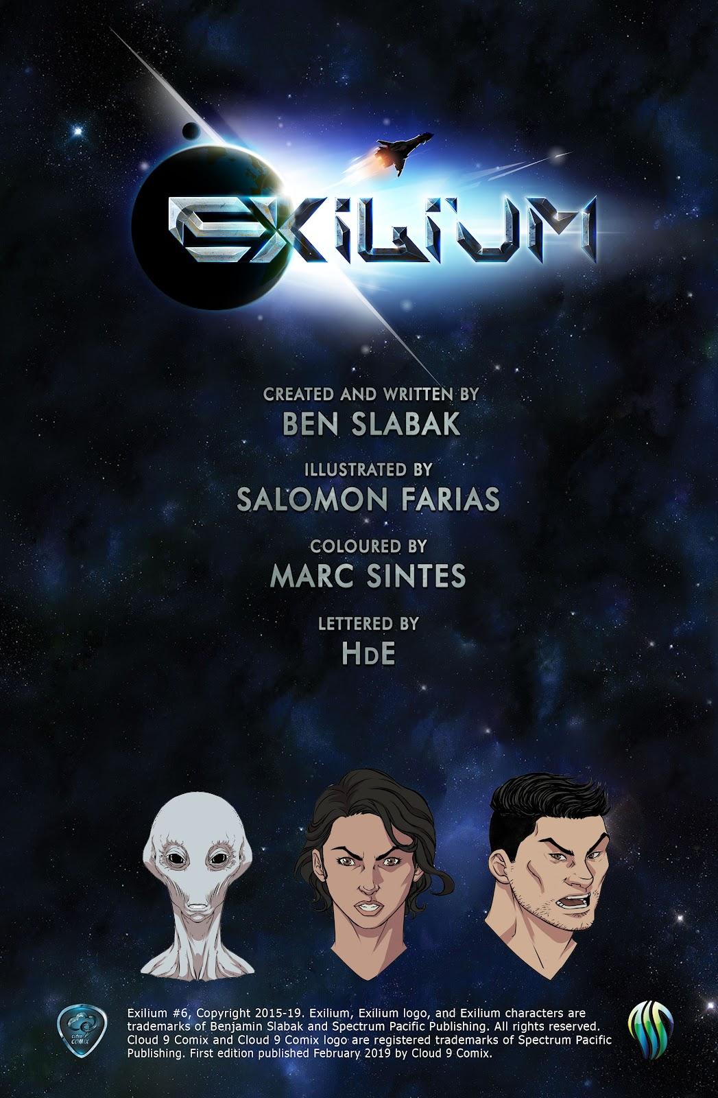Exilium issue 6 - Page 2