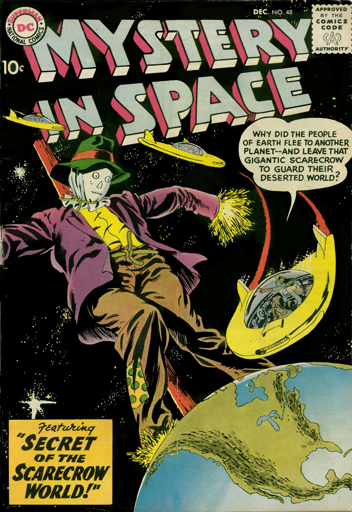 Mystery in Space (1951) issue 48 - Page 1