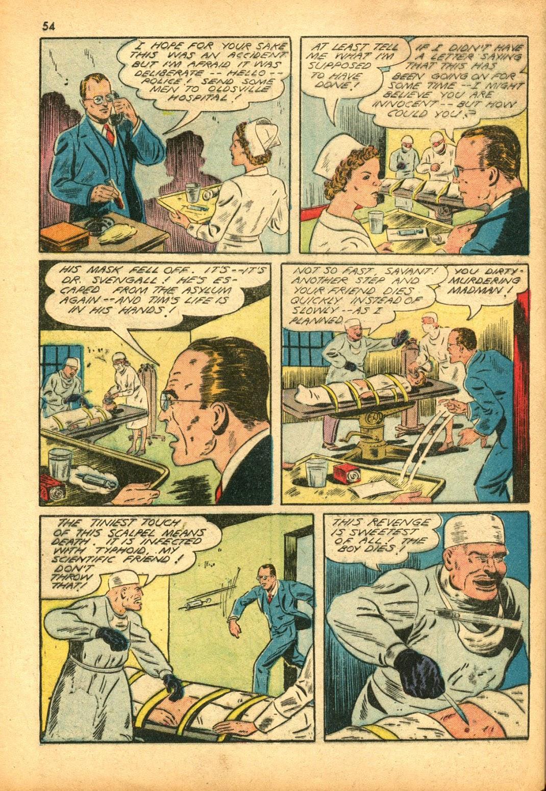 Read online Super-Magician Comics comic -  Issue #15 - 53