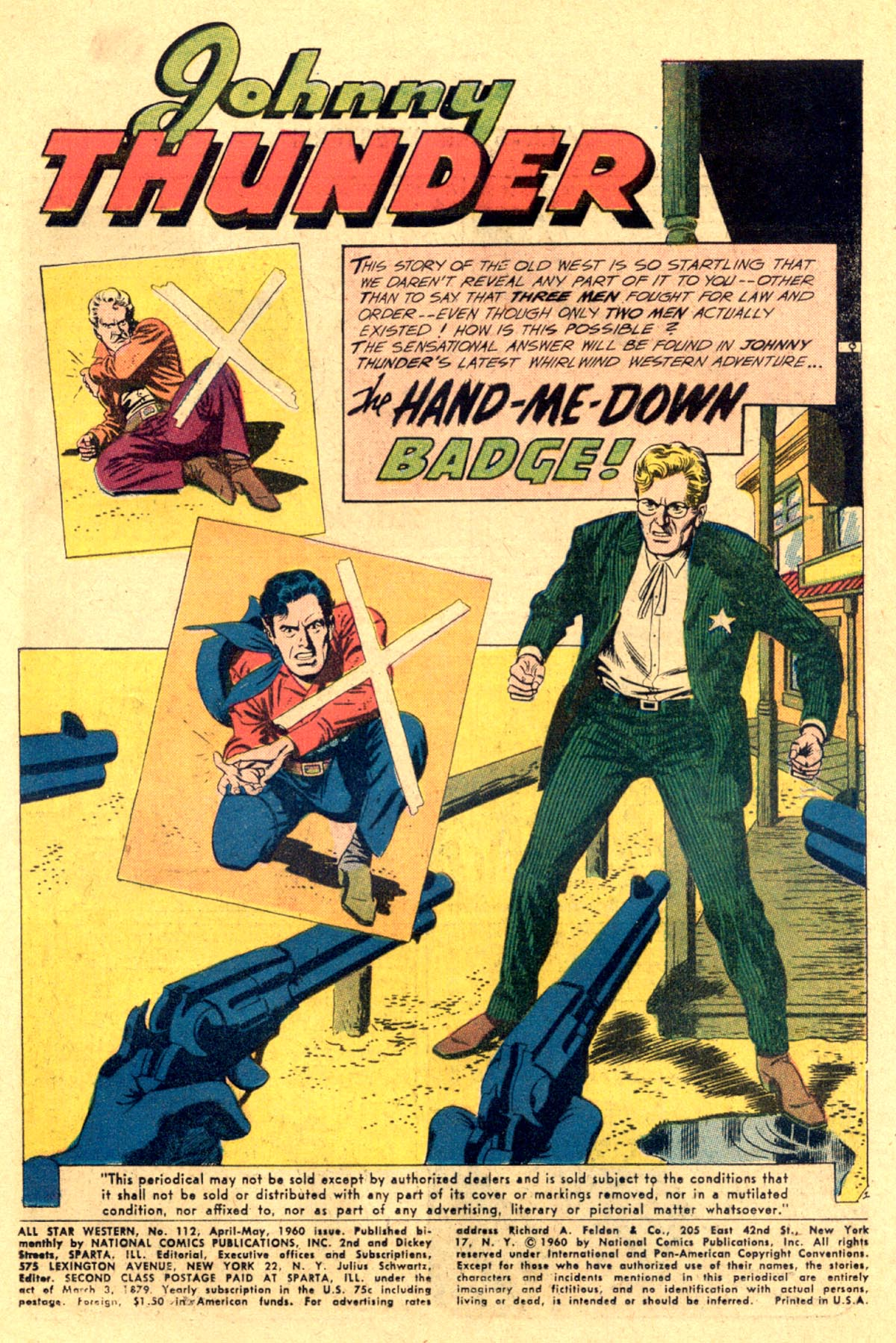 Read online All-Star Western (1951) comic -  Issue #112 - 3