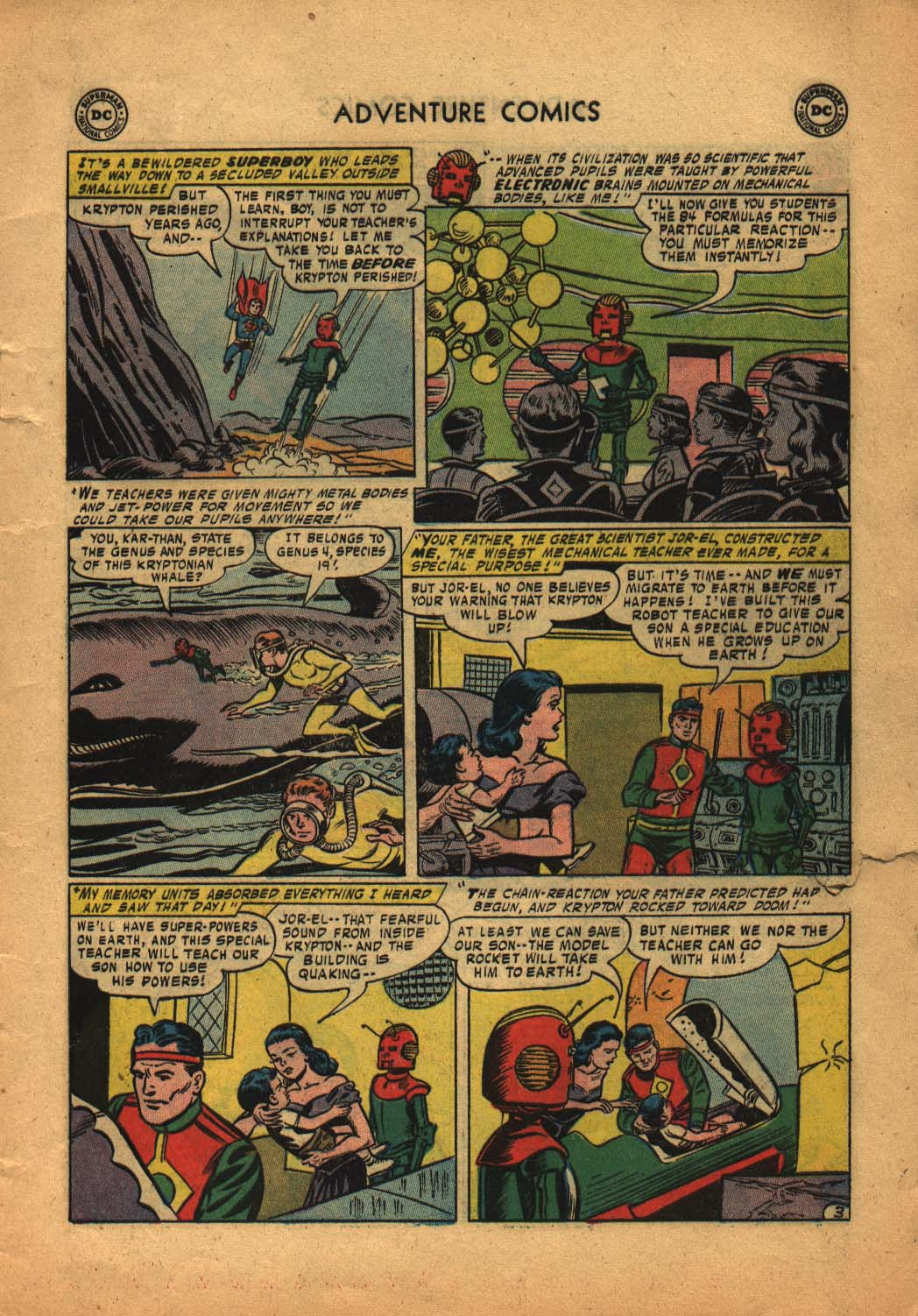 Read online Adventure Comics (1938) comic -  Issue #240 - 5