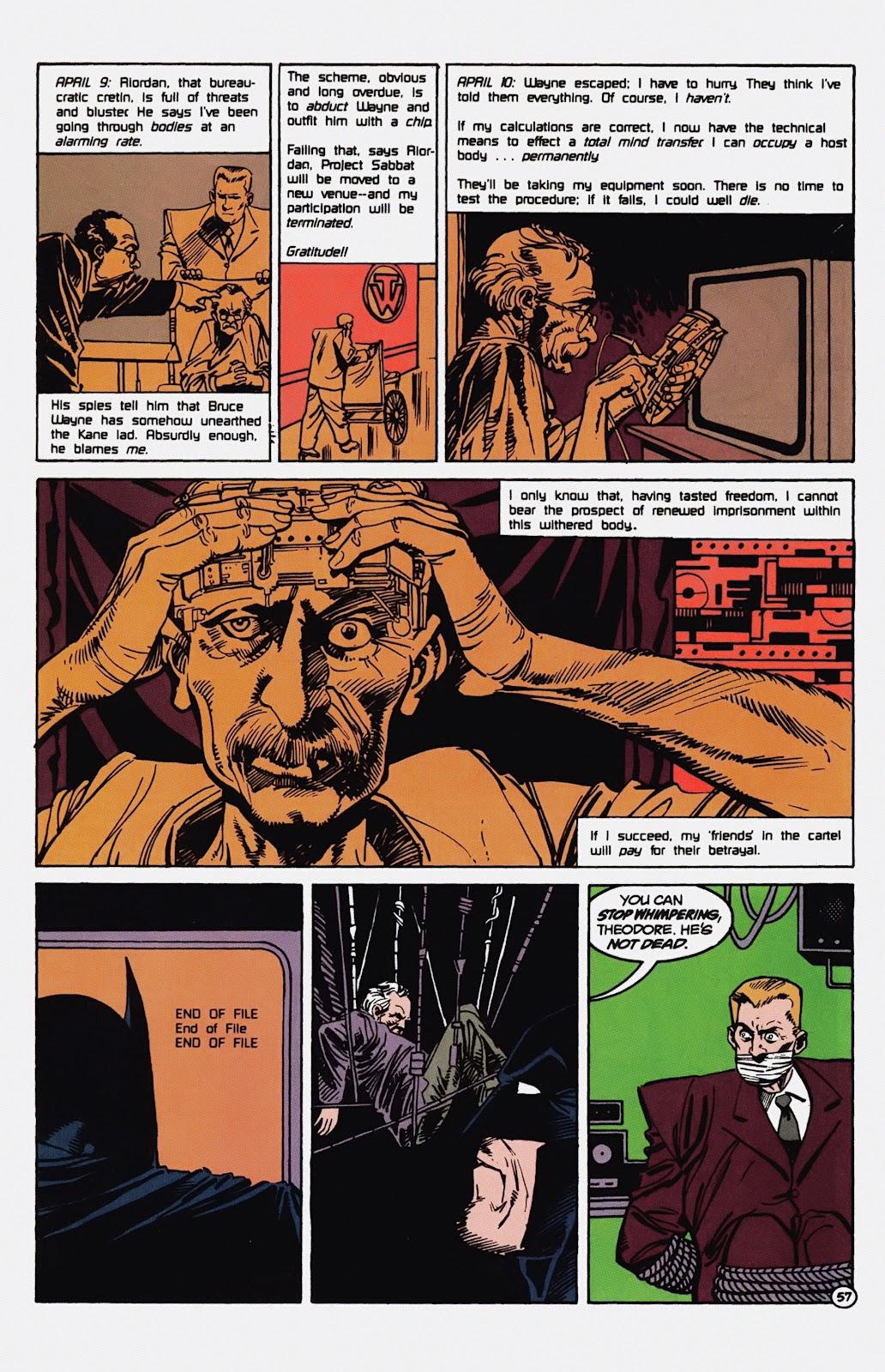 Read online Detective Comics (1937) comic -  Issue # _TPB Batman - Blind Justice (Part 1) - 62