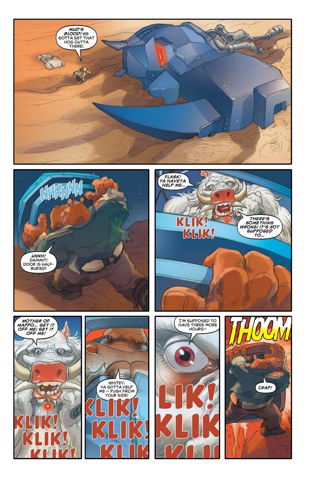 Read online Elephantmen 2261 Season Two: The Pentalion Job comic -  Issue # TPB - 88
