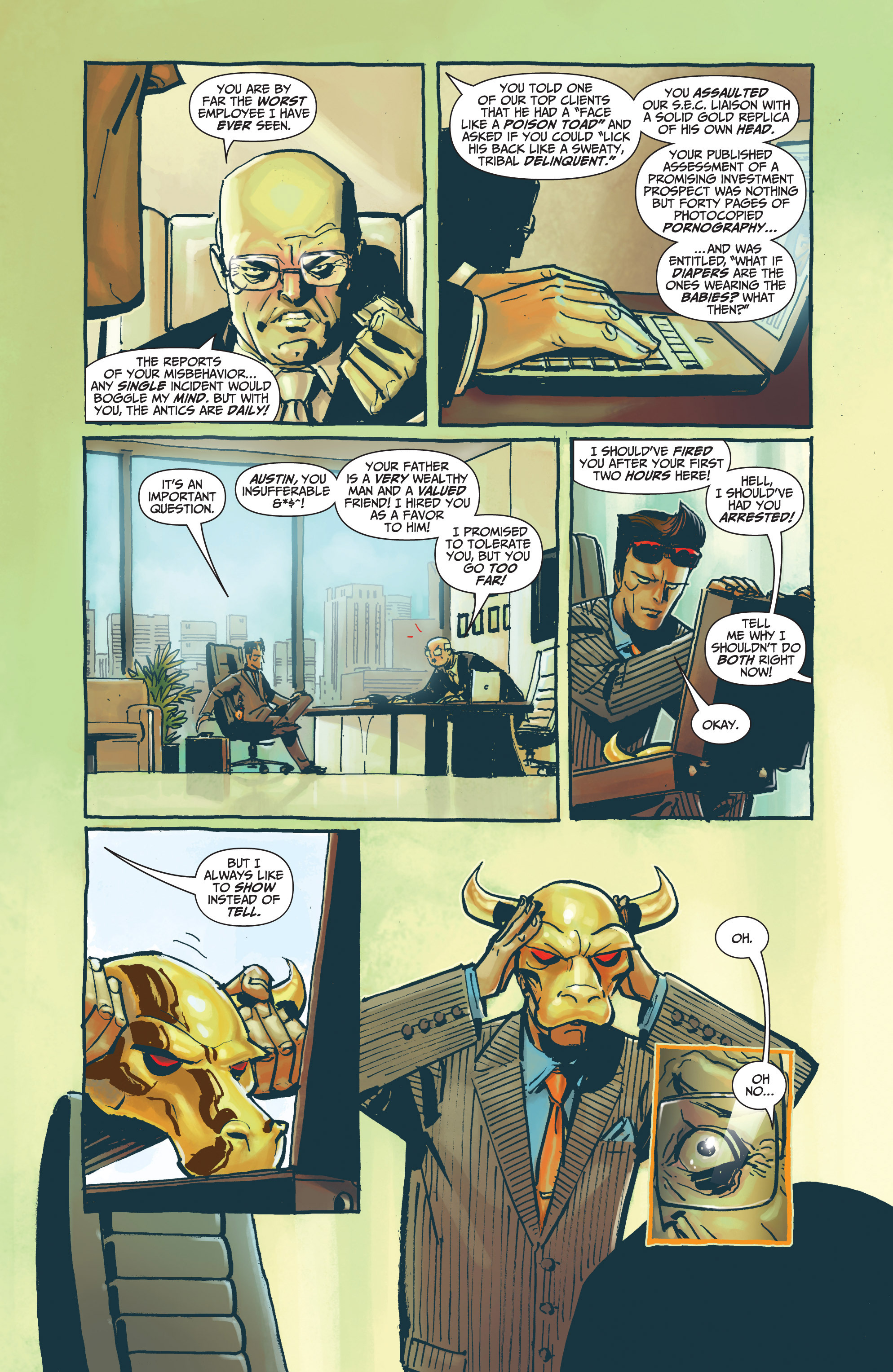 Read online Archer and Armstrong comic -  Issue #Archer and Armstrong _TPB 7 - 41