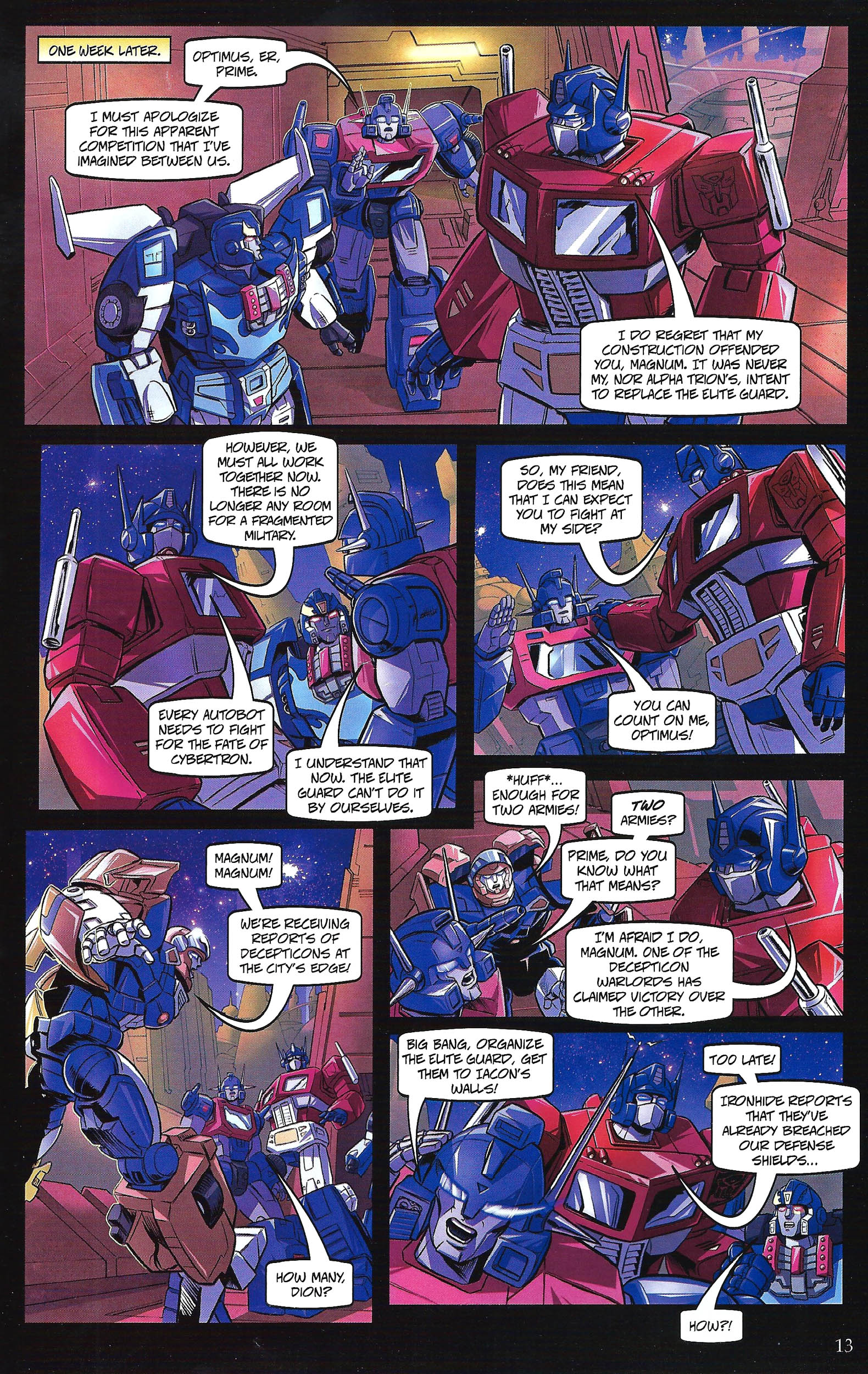 Read online Transformers: Collectors' Club comic -  Issue #41 - 13