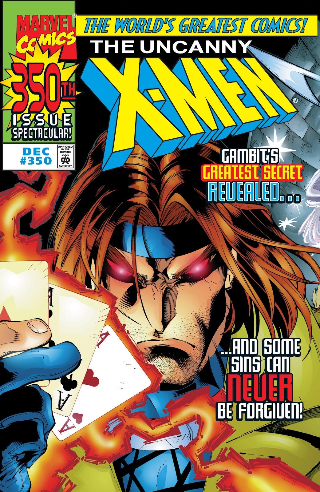 Uncanny X-Men (1963) 350 Page 1