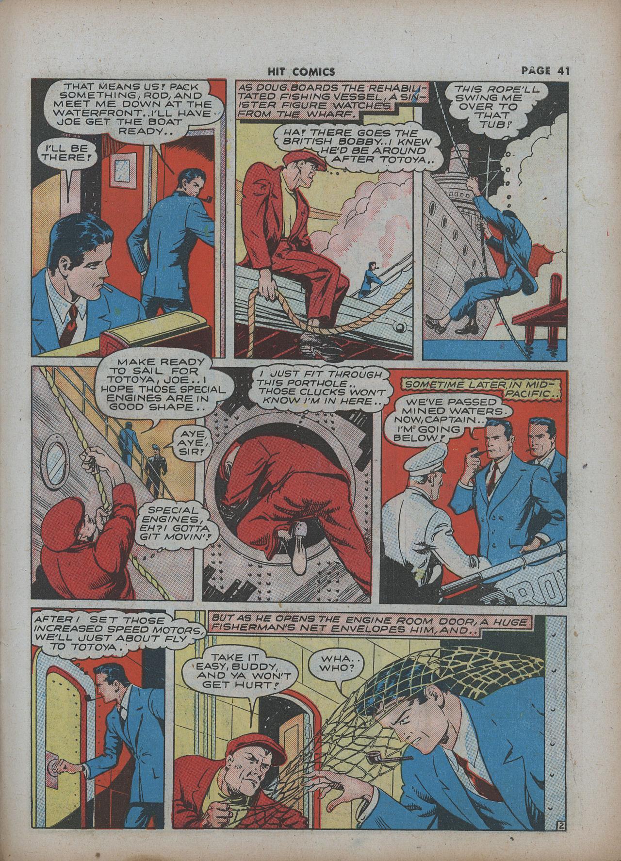 Read online Hit Comics comic -  Issue #22 - 43