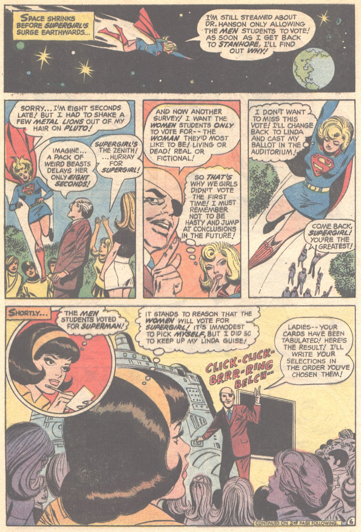 Read online Adventure Comics (1938) comic -  Issue #395 - 8
