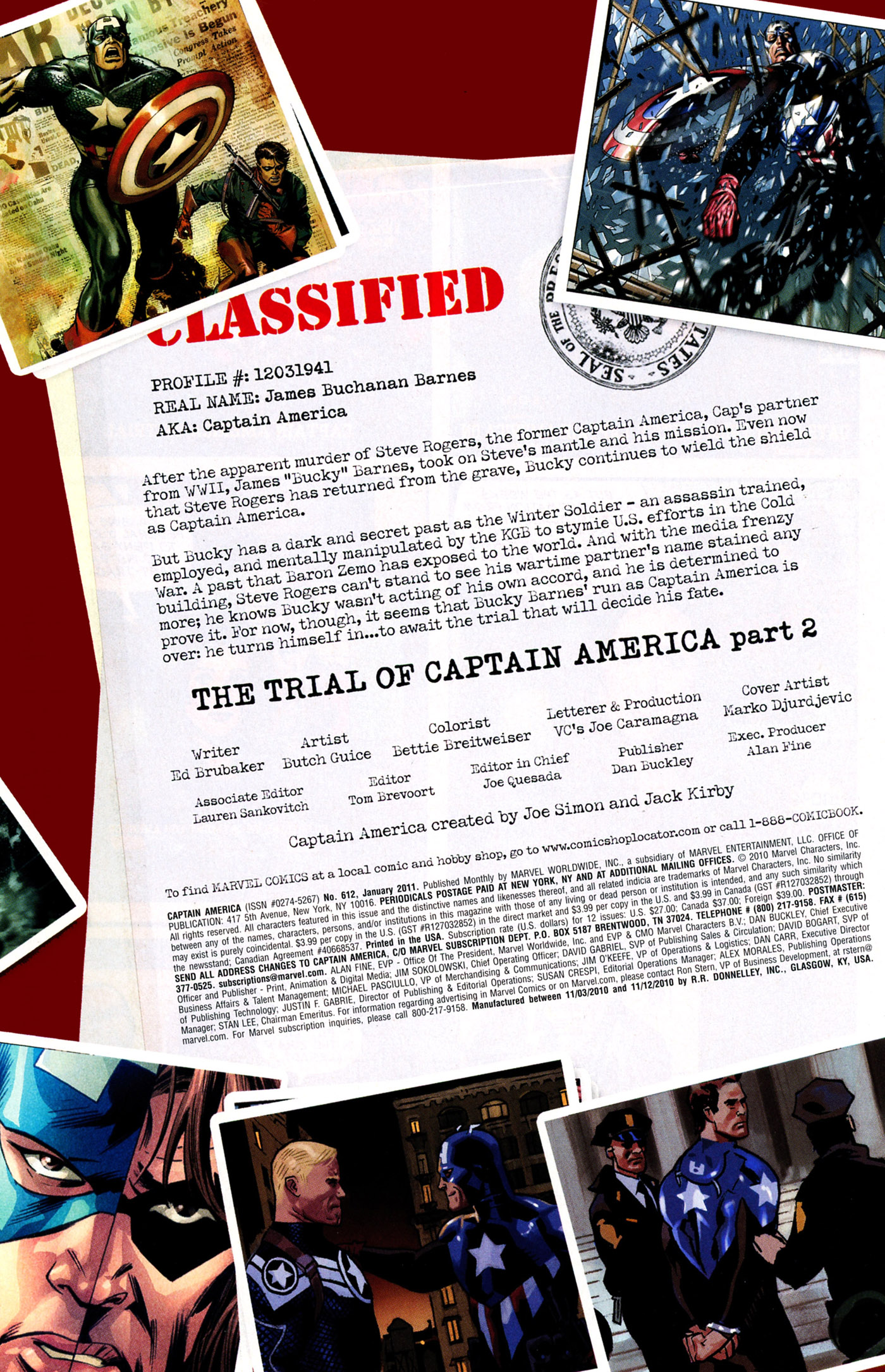Captain America (1968) 612 Page 1