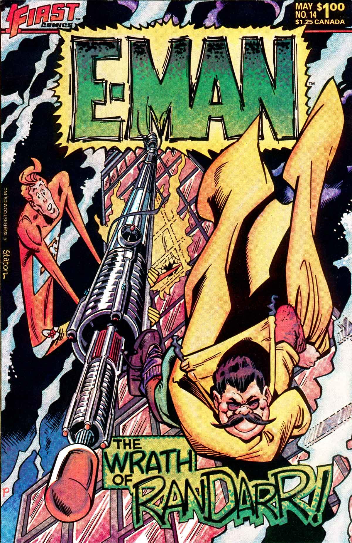 E-Man (1983) 14 Page 1
