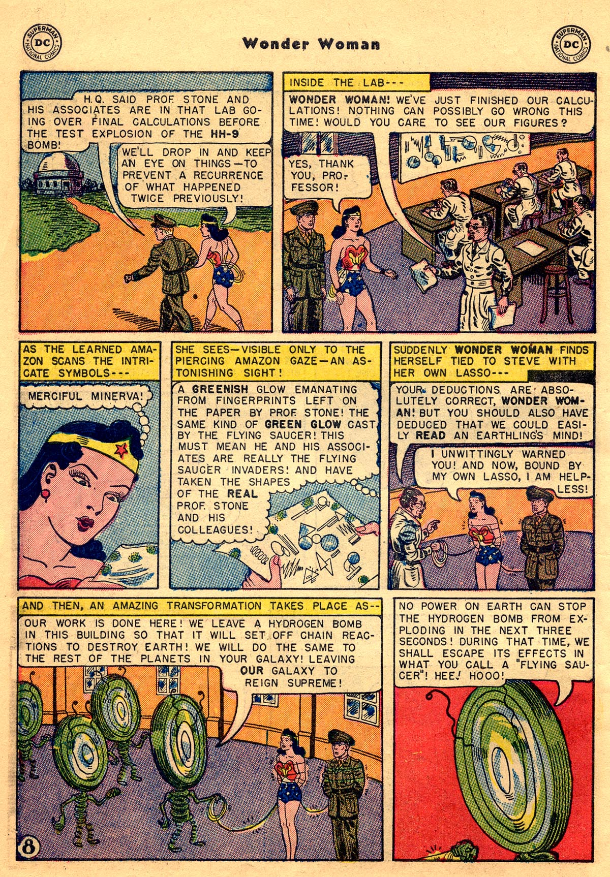 Read online Wonder Woman (1942) comic -  Issue #68 - 10