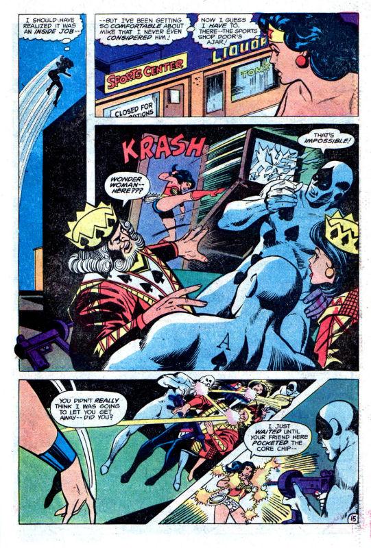 Read online Wonder Woman (1942) comic -  Issue #256 - 23