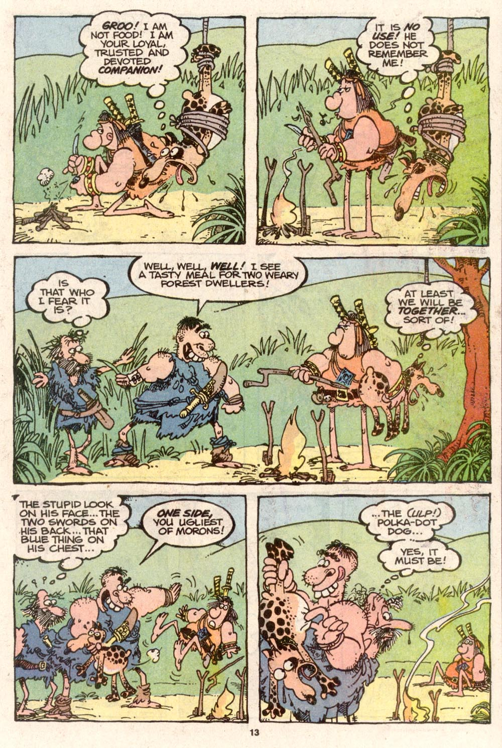 Read online Sergio Aragonés Groo the Wanderer comic -  Issue #74 - 9