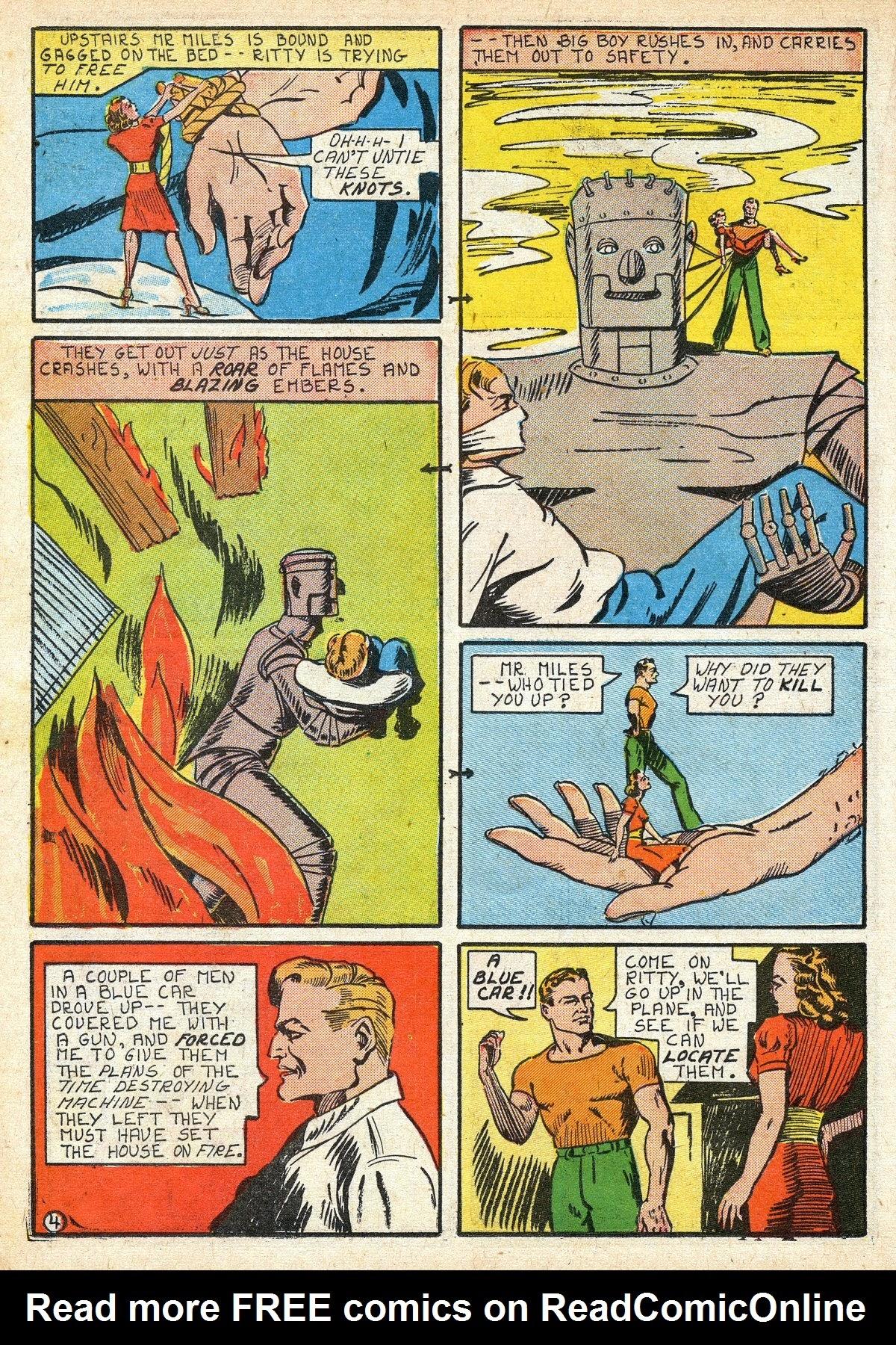 Read online Amazing Man Comics comic -  Issue #16 - 26