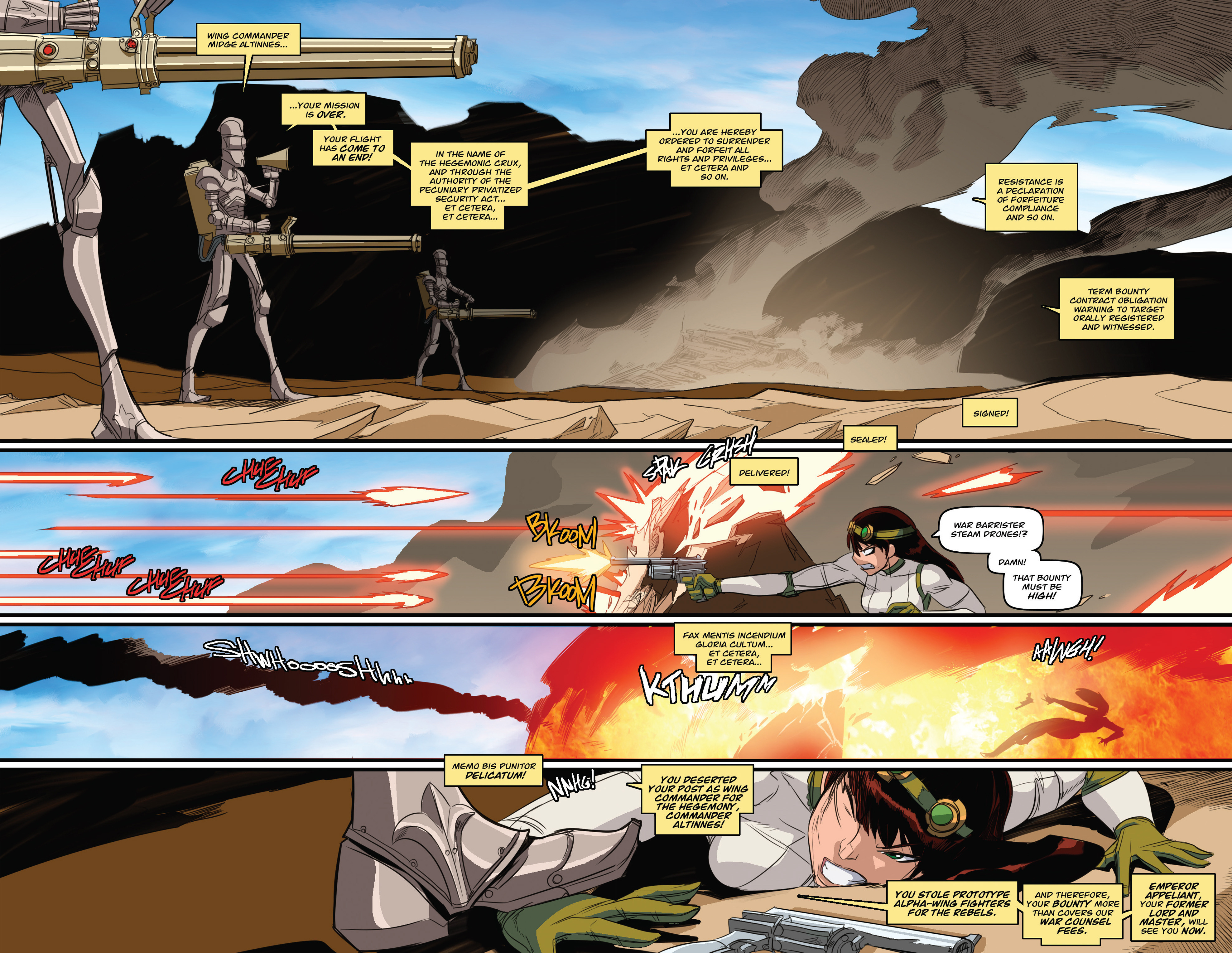 Read online Steam Wars: First Empire comic -  Issue #3 - 26