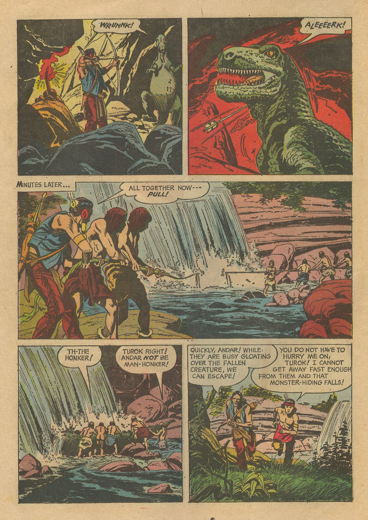 Read online Turok, Son of Stone comic -  Issue #54 - 16