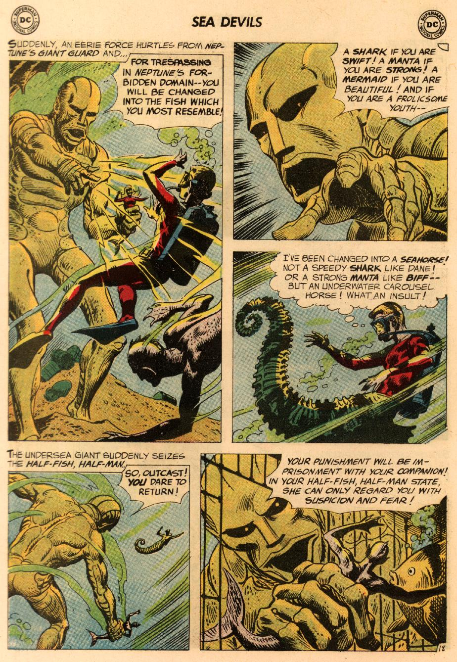 Read online Sea Devils comic -  Issue #8 - 27