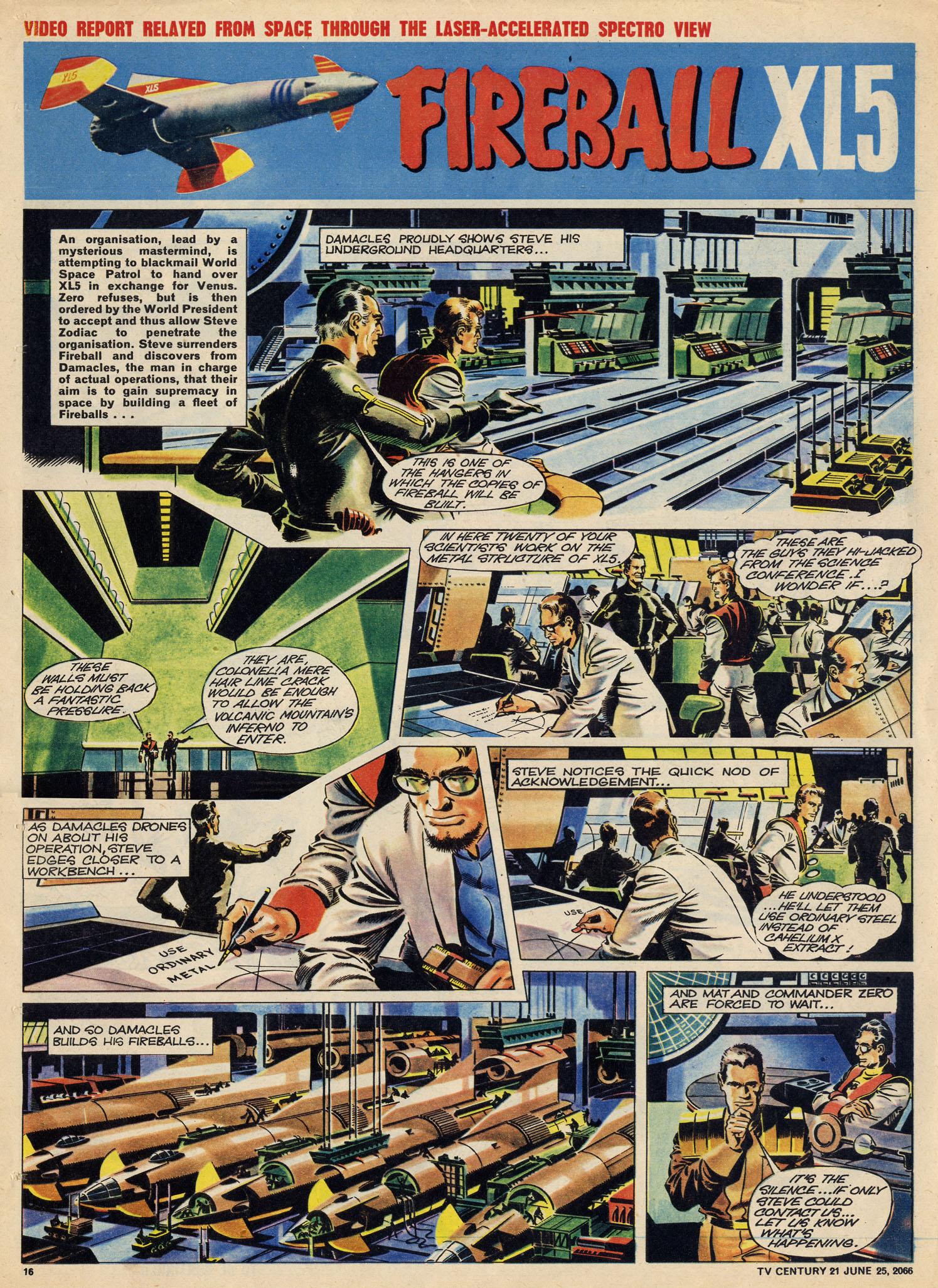 Read online TV Century 21 (TV 21) comic -  Issue #75 - 15
