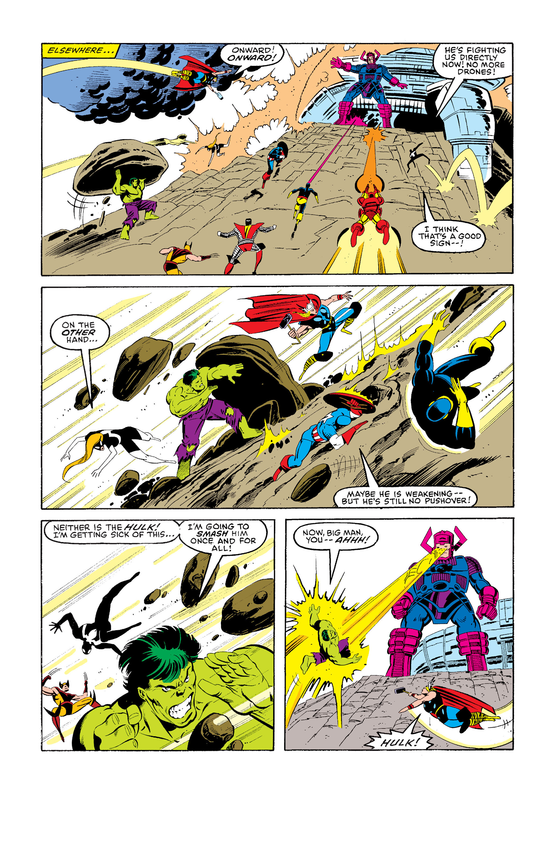 Read online Secret Wars (1985) comic -  Issue #9 - 21