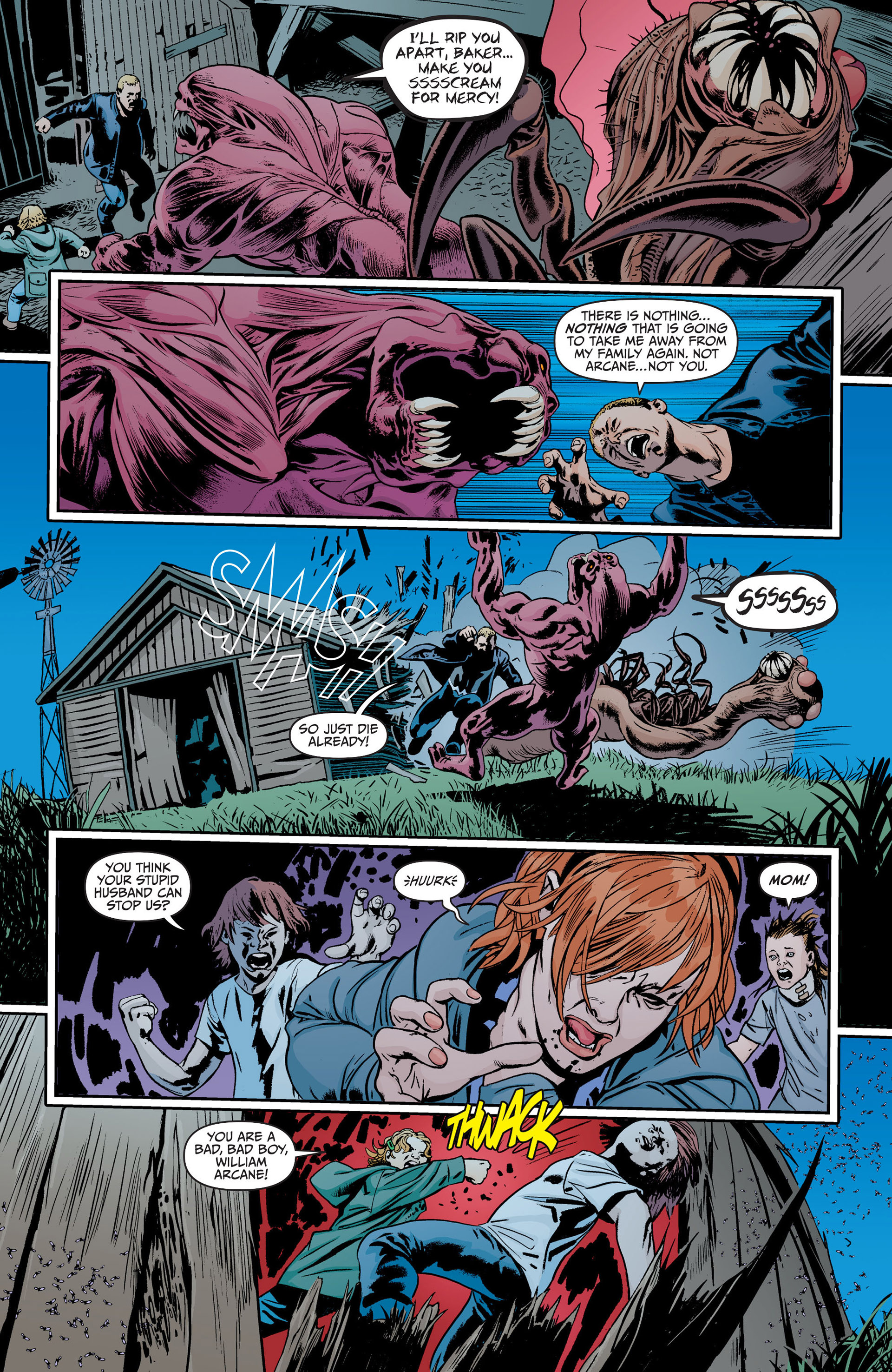 Read online Animal Man (2011) comic -  Issue #18 - 10
