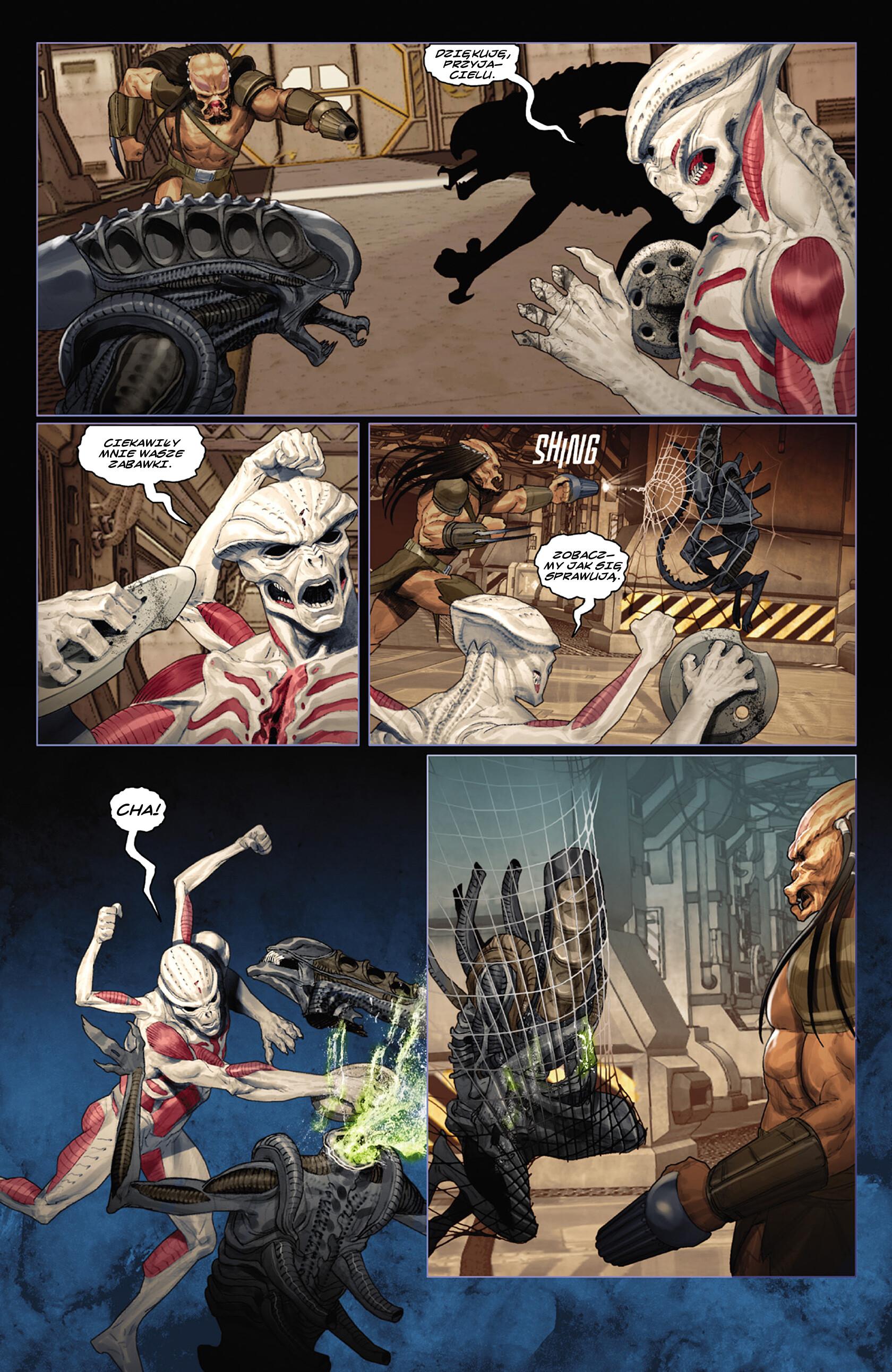 Read online Alien vs. Predator: Fire and Stone comic -  Issue #3 - 11