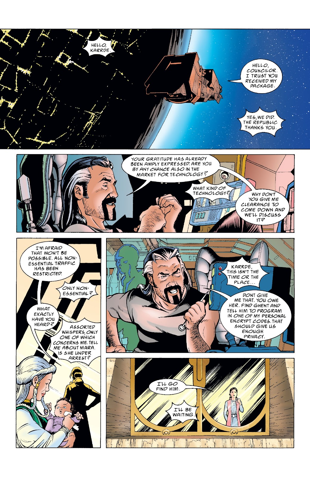 Read online Star Wars Legends: The New Republic - Epic Collection comic -  Issue # TPB 4 (Part 5) - 1