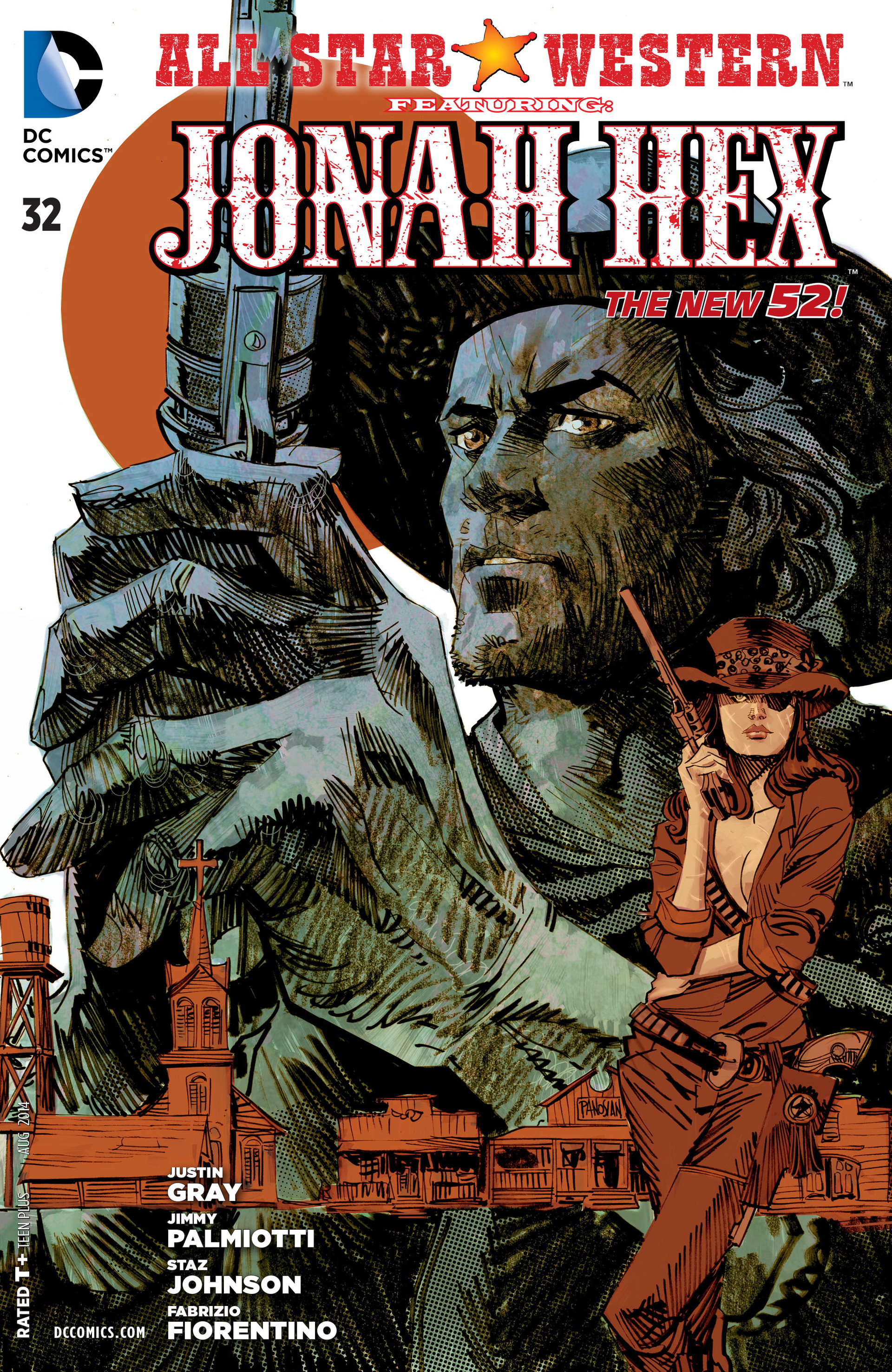 Read online All-Star Western (2011) comic -  Issue #32 - 1