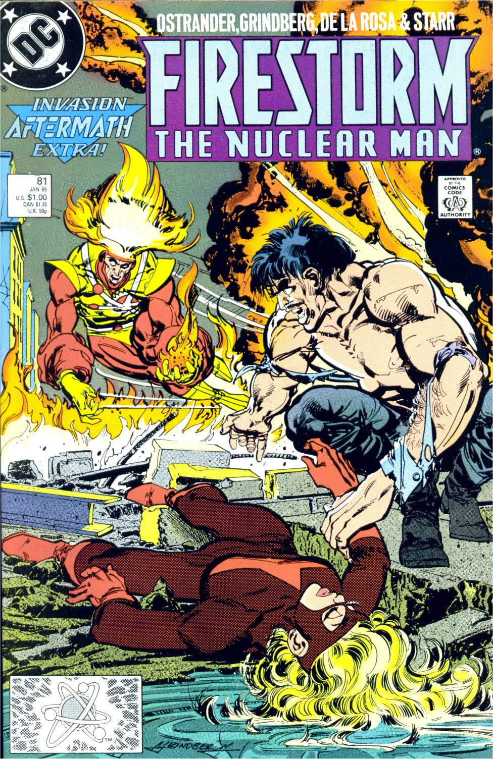 Firestorm, the Nuclear Man issue 81 - Page 1