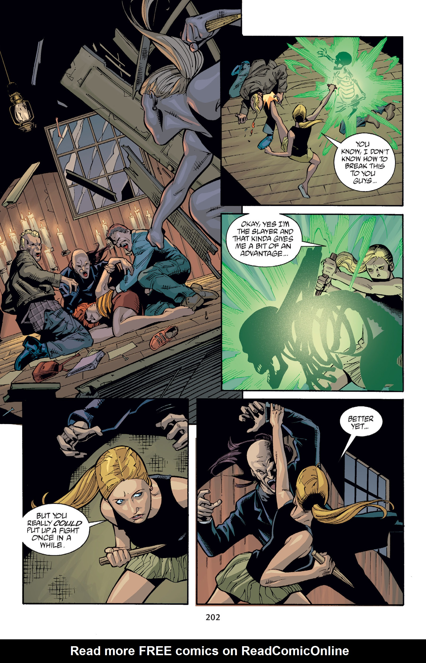 Read online Buffy the Vampire Slayer: Omnibus comic -  Issue # TPB 6 - 201