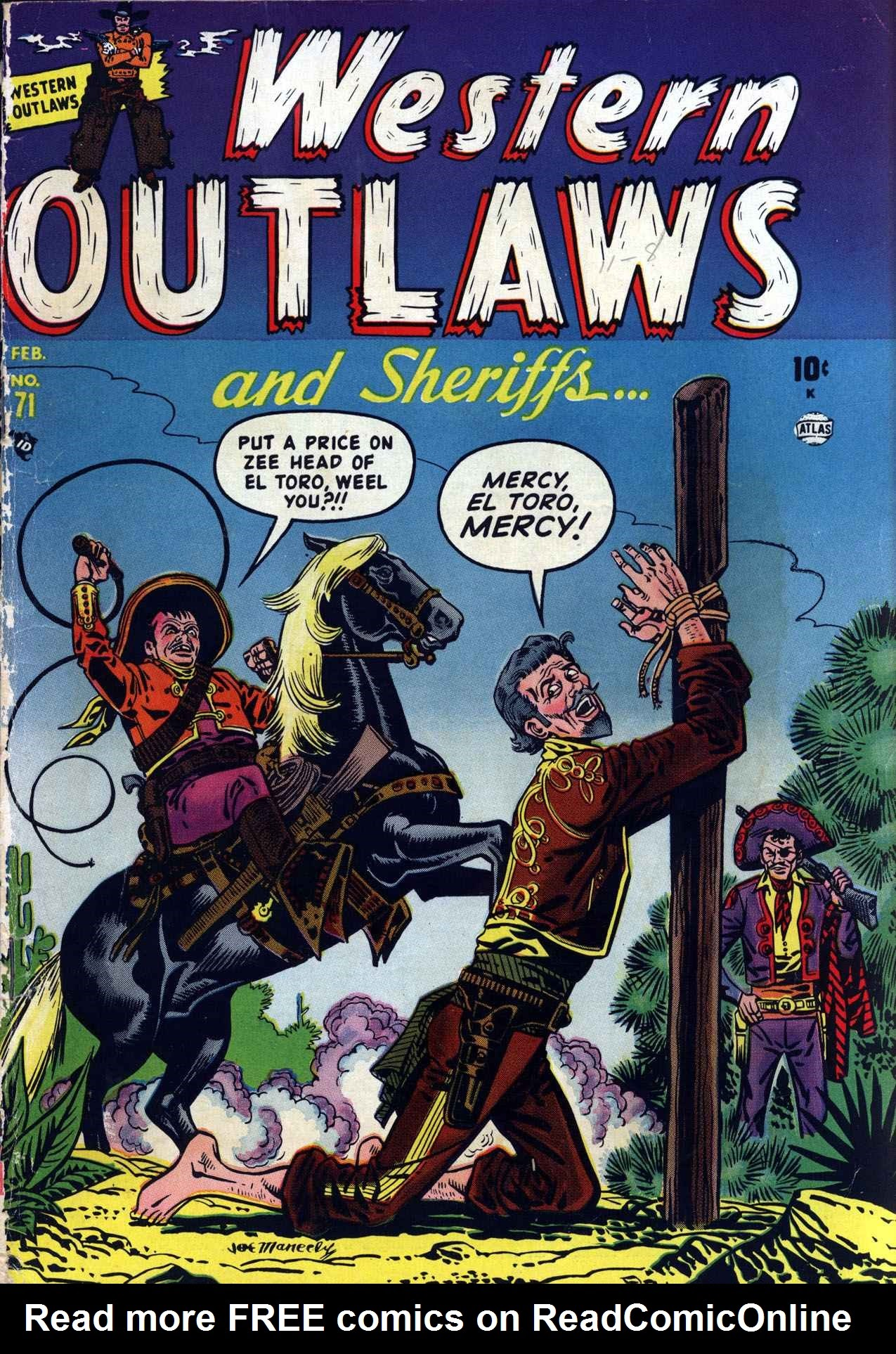 Western Outlaws and Sheriffs 71 Page 1