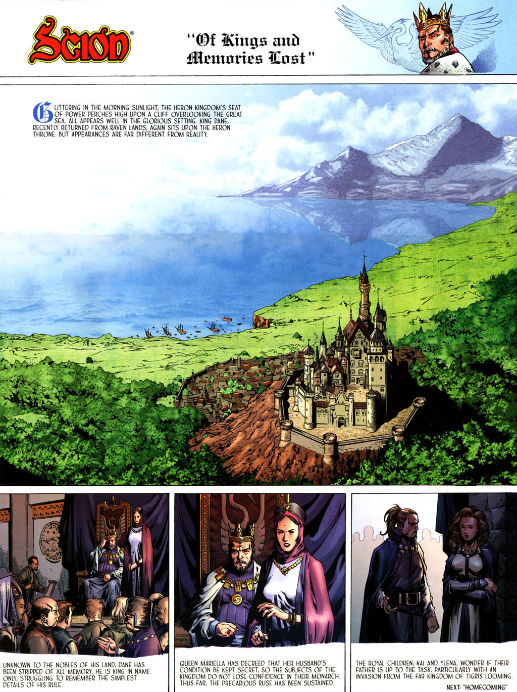 Read online Scion comic -  Issue #39 - 4