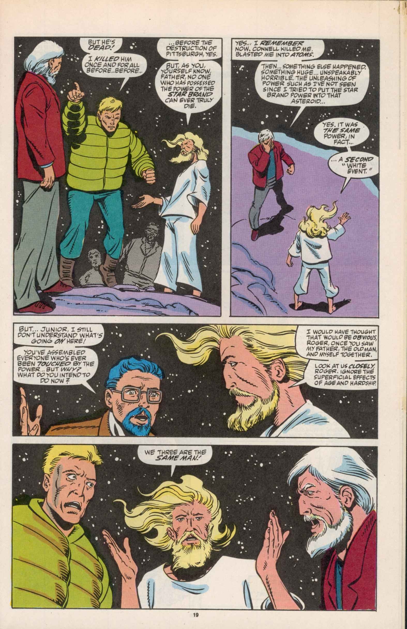 Read online Star Brand comic -  Issue #19 - 21