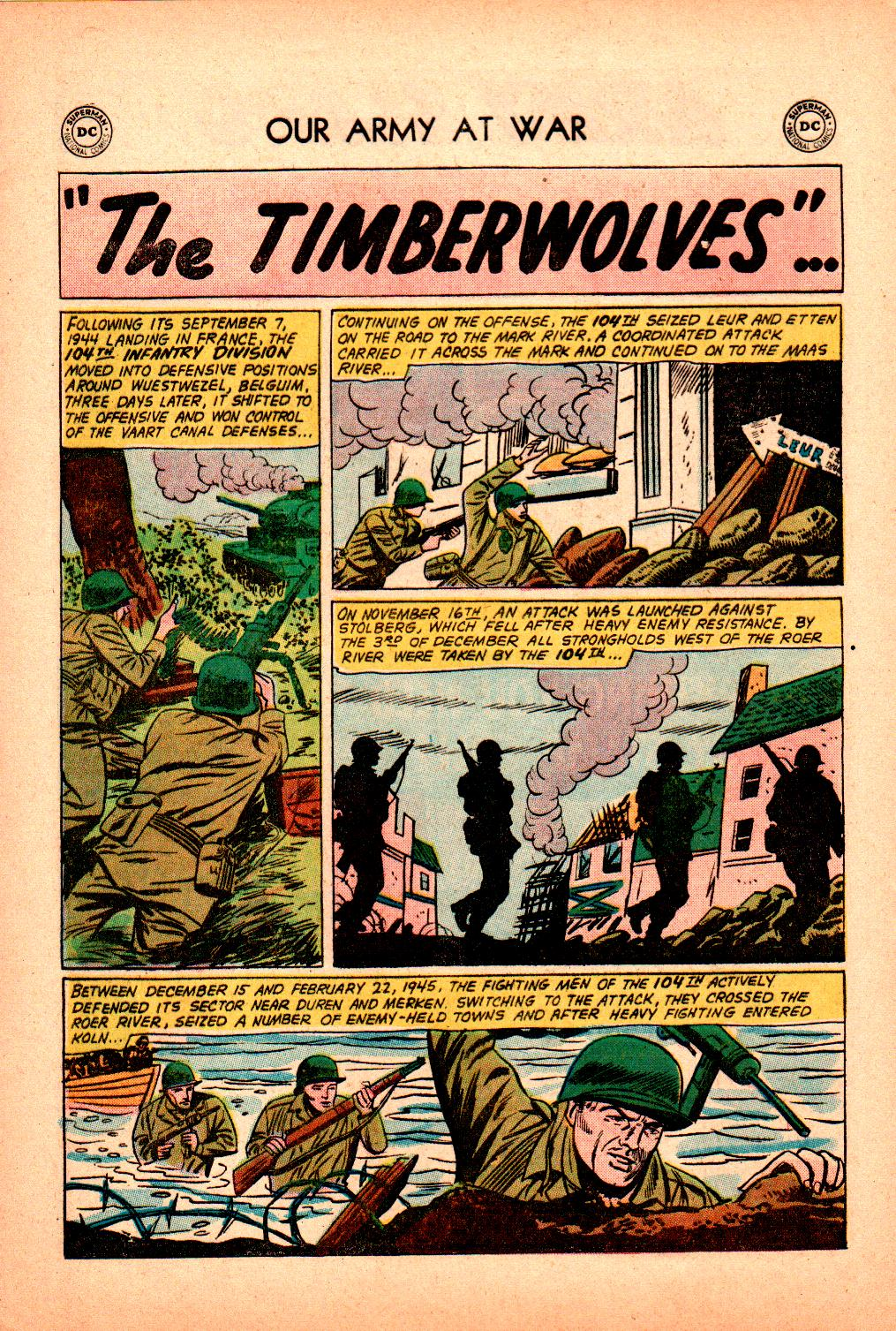Our Army at War (1952) issue 101 - Page 20