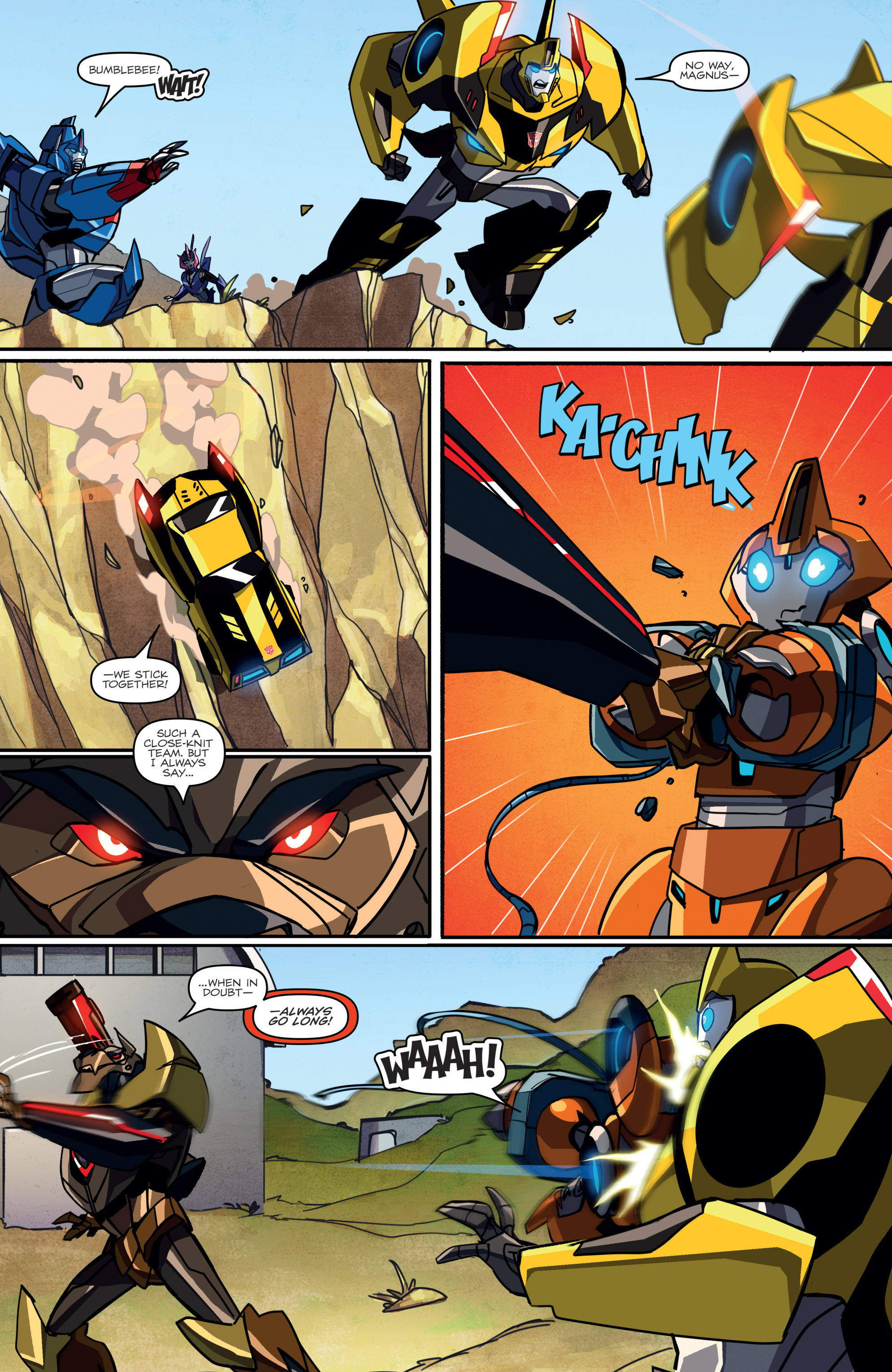 Read online Transformers: Robots In Disguise (2015) comic -  Issue #2 - 18