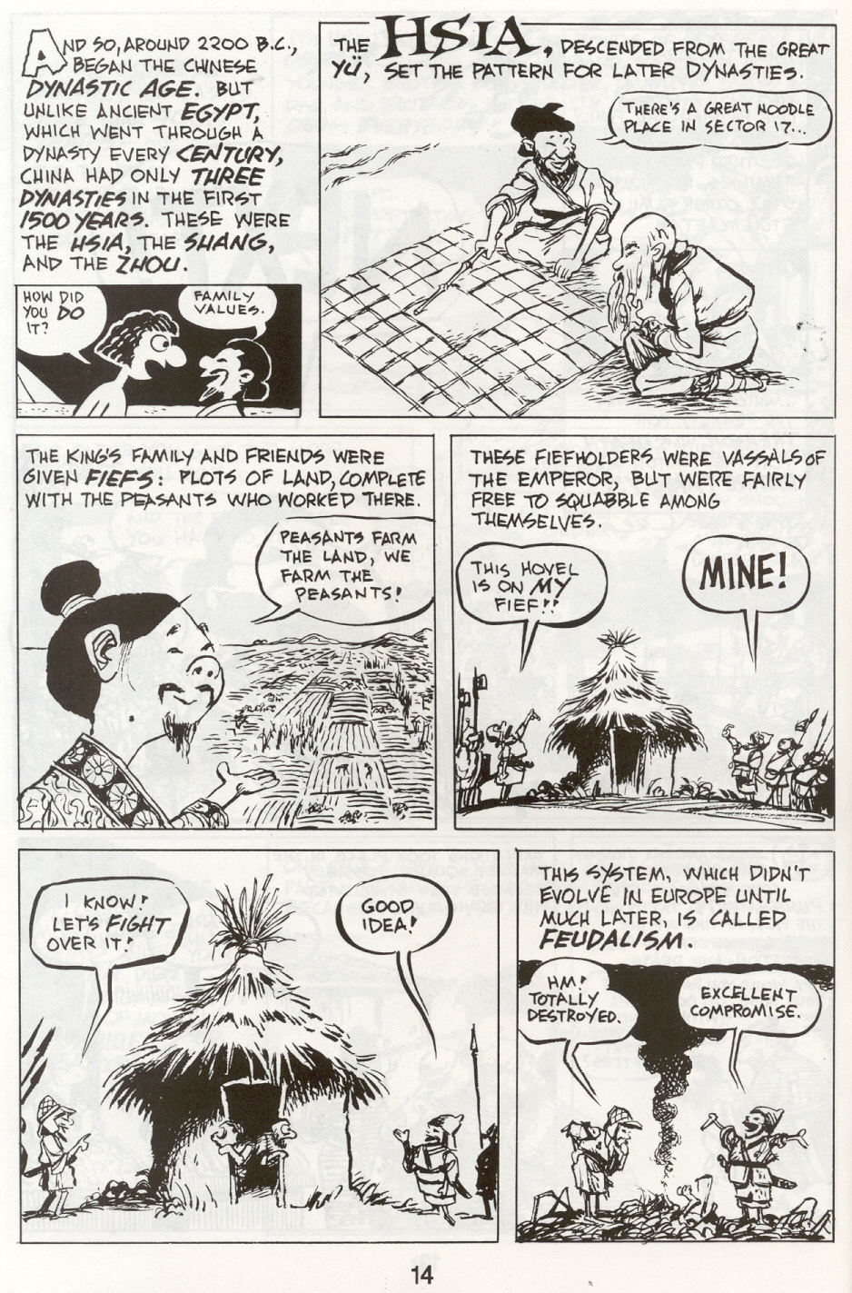 Read online The Cartoon History of the Universe comic -  Issue #9 - 17