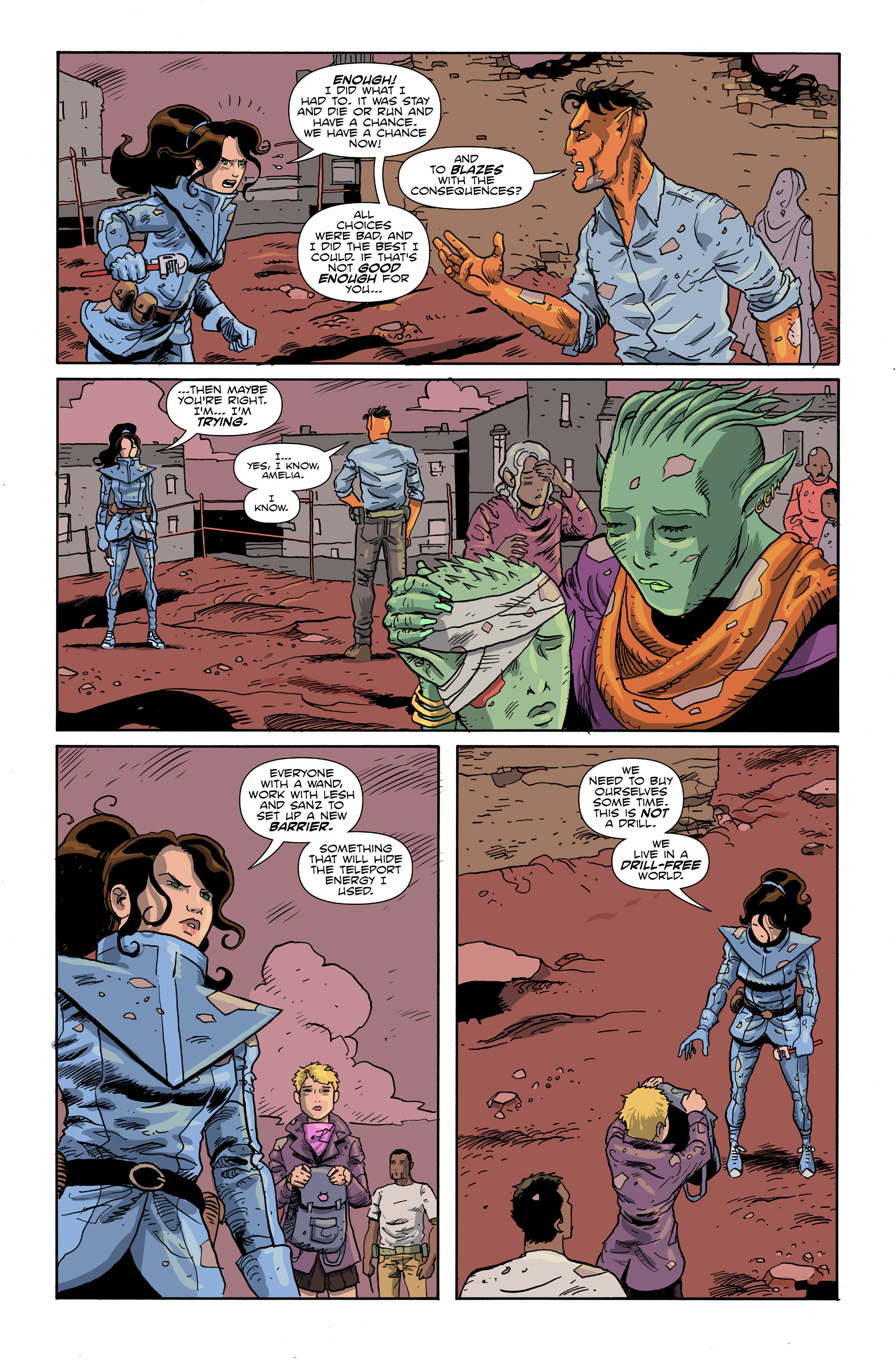 Read online Amelia Cole Versus The End of Everything comic -  Issue #26 - 15