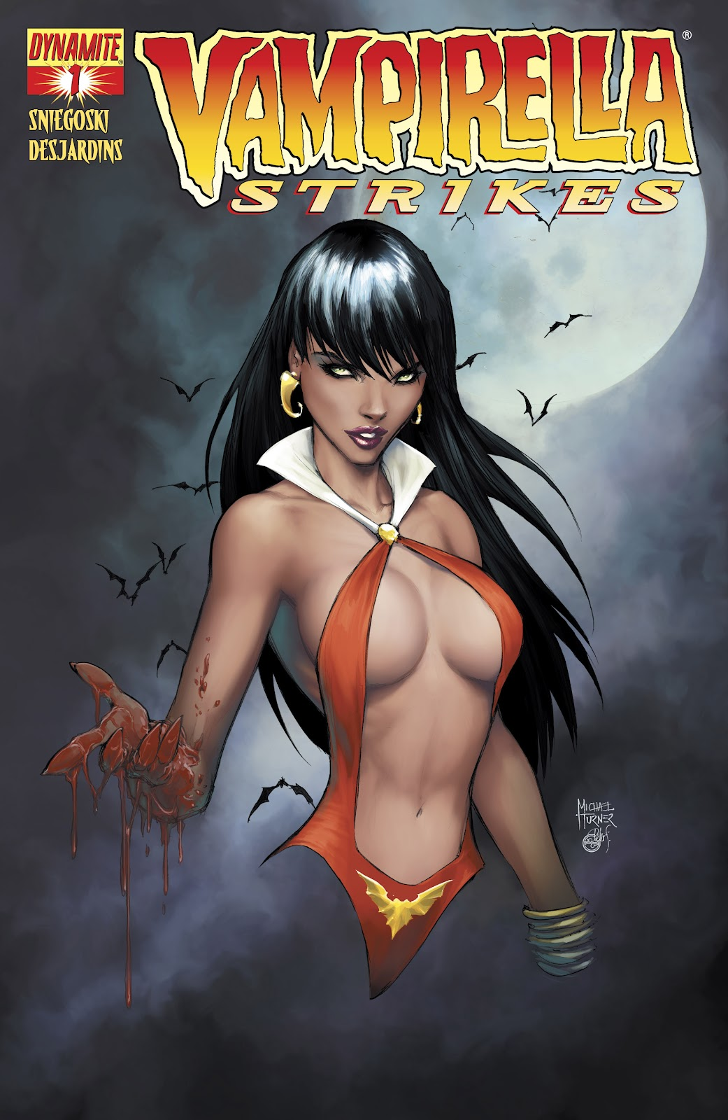 Read online Vampirella Strikes comic -  Issue #1 - 1
