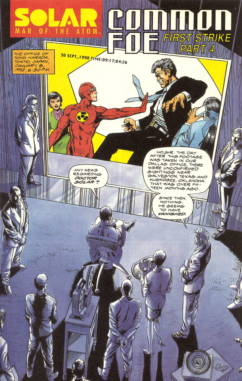 Read online Solar, Man of the Atom comic -  Issue #8 - 3