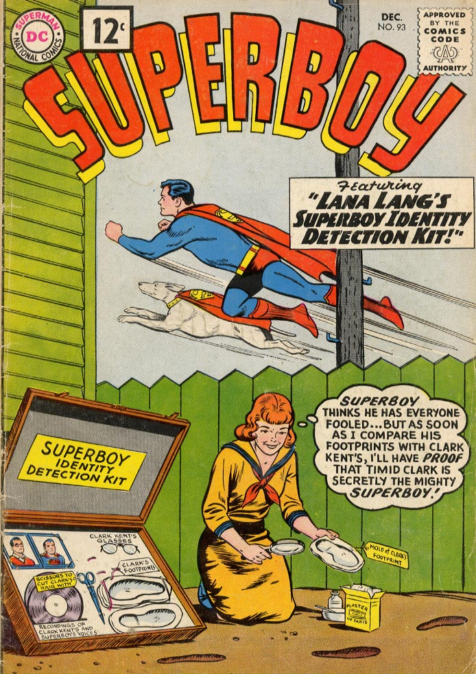 Superboy (1949) issue 93 - Page 1