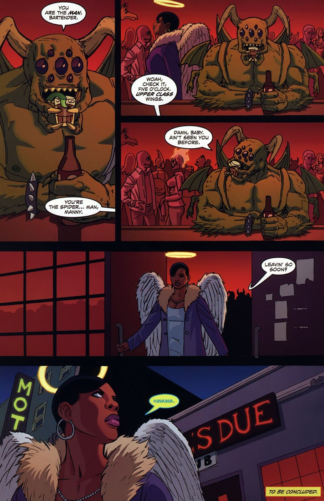 Read online Mercy Sparx (2008) comic -  Issue #3 - 24