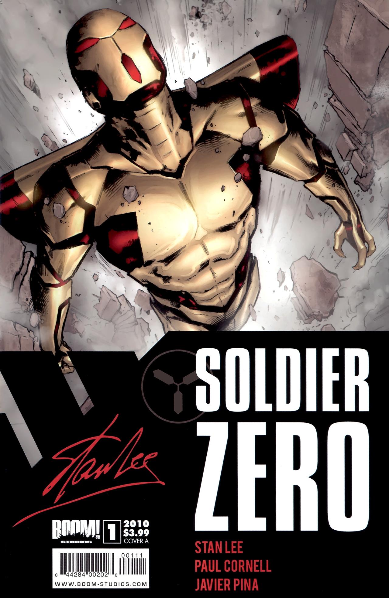 Read online Soldier Zero comic -  Issue #1 - 1
