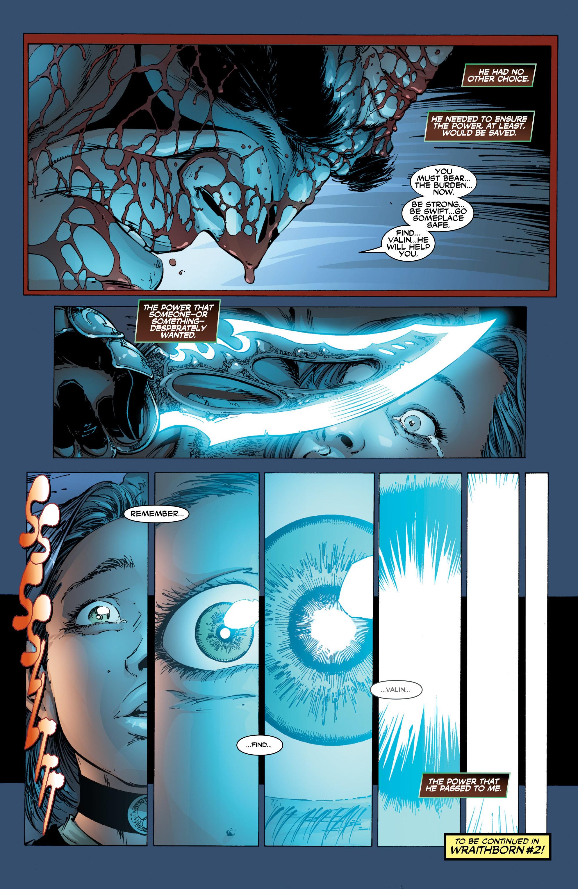 Read online Wraithborn Redux comic -  Issue #1 - 28