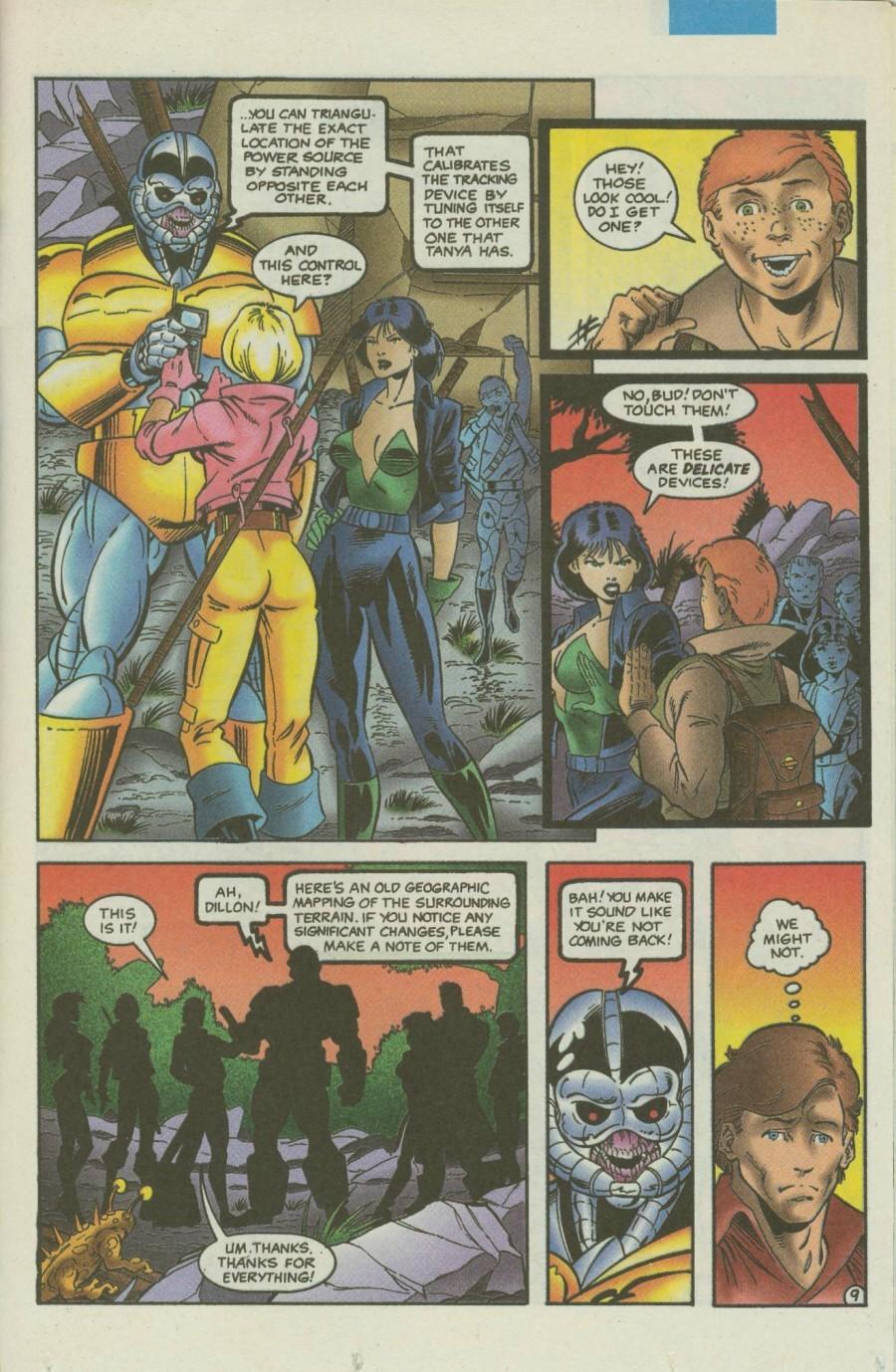 Read online Ex-Mutants comic -  Issue #4 - 12