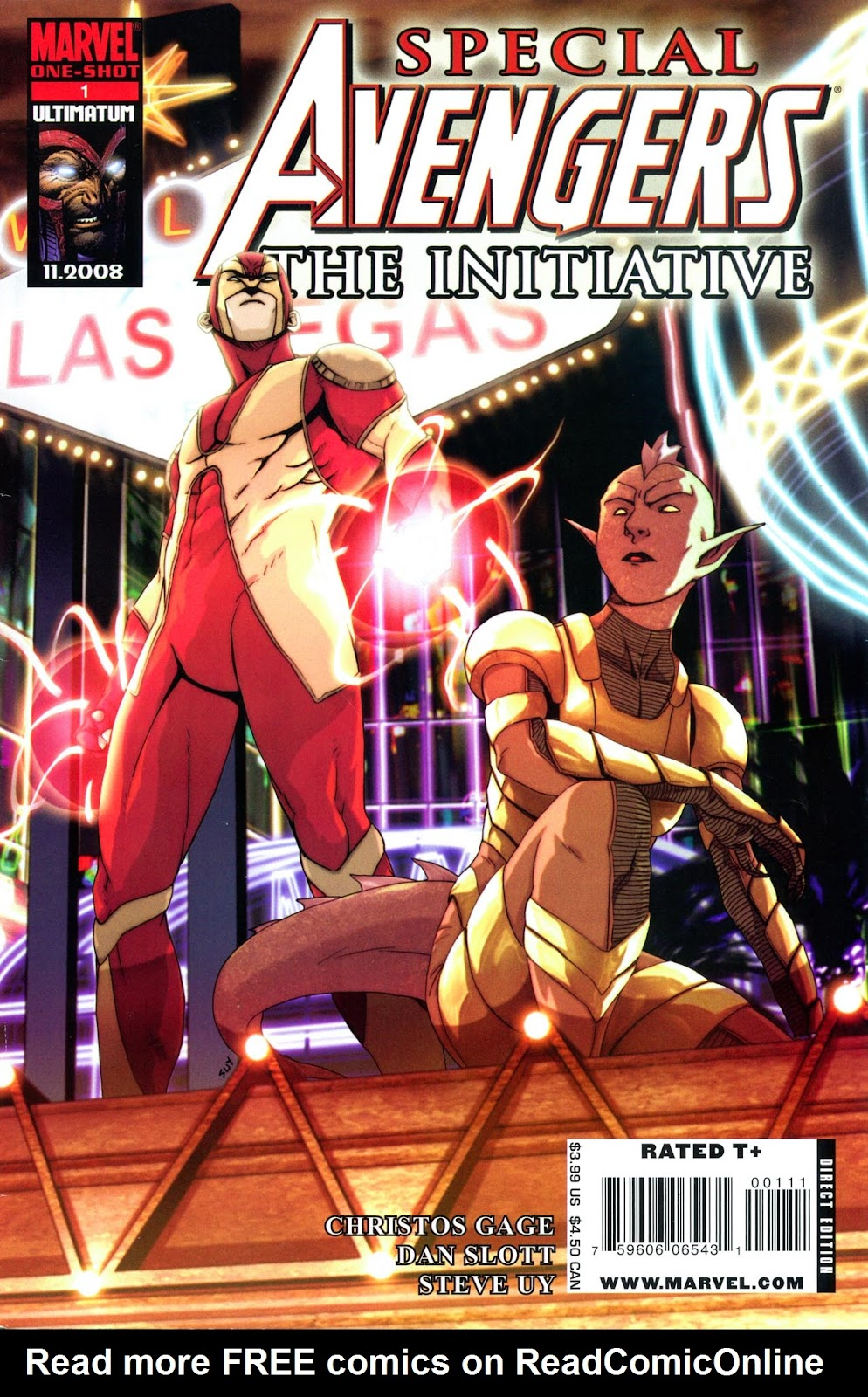 Read online Avengers: The Initiative comic -  Issue # _Special 1 - 1